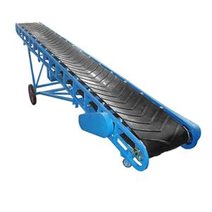 Bulk Material Inclined Modular Angled Belt Conveyor