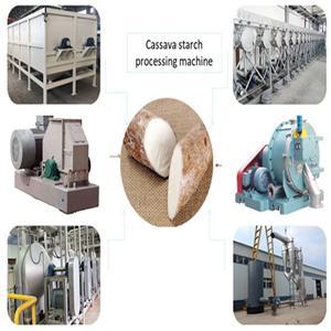 Cassava Yuca Flour Cassava Starch Processing System