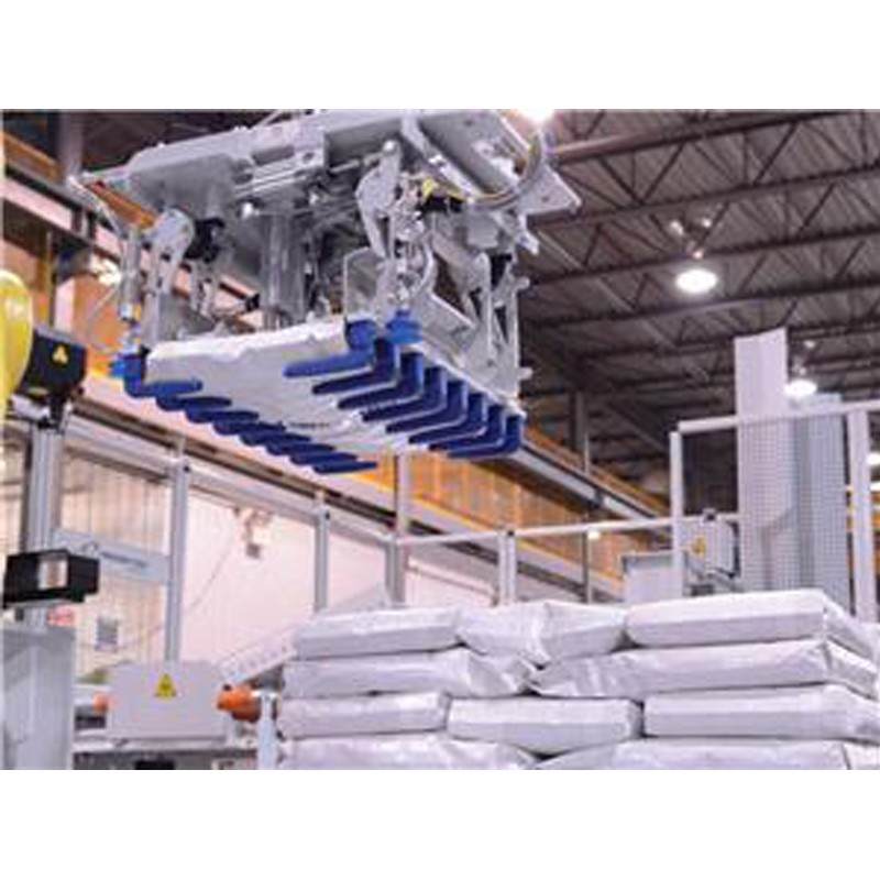 Bagged Flour And Feed Automated Palletizing System