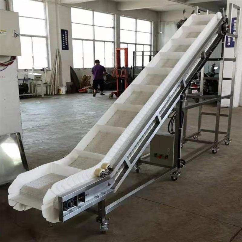 Food Processing Link Style Plastic Modular Conveyor