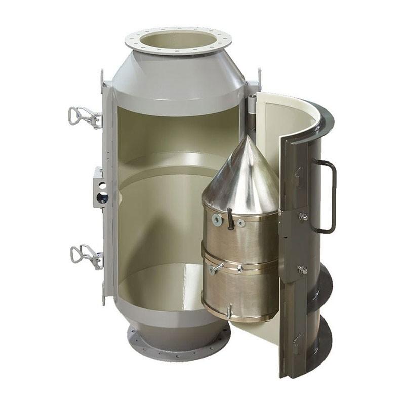Separator magnetic cu tambur din oțel de porumb