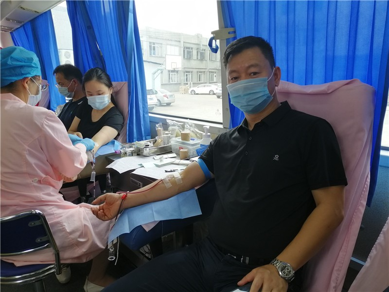 Non-remunerated blood donation activity