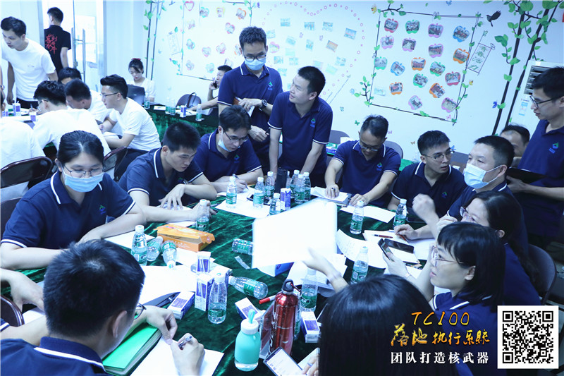 利达包装核心管理人员参加TC100管理培训项目