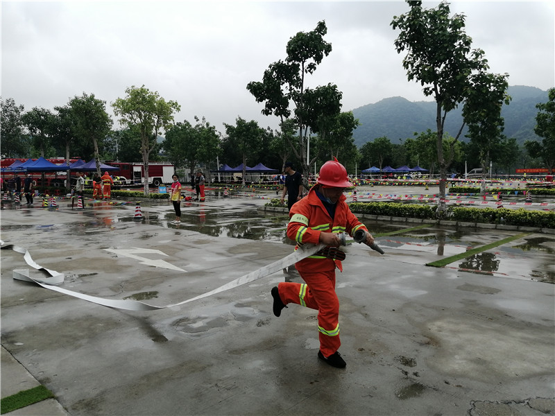 LD PACK's fire brigade attended the