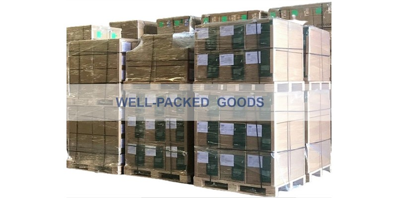 Safe and satisfactory packing for goods