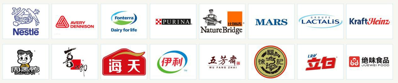 国际知名的客户群体