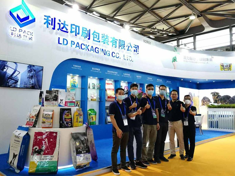 Recyclable packaging pouch is LD PACK's key product in the 23rd Asian pet exhibition