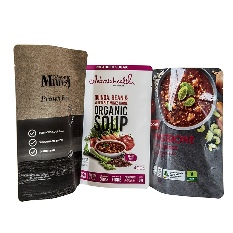 Food Pouches - Soup Packaging