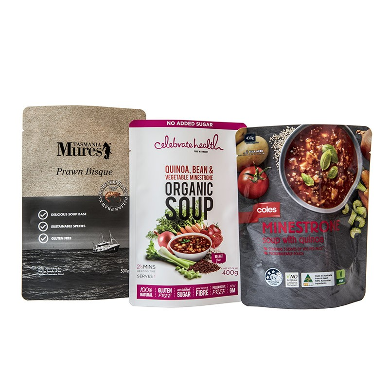 Food Pouches - Soup Packaging Manufacturers, Food Pouches - Soup Packaging Factory, Supply Food Pouches - Soup Packaging