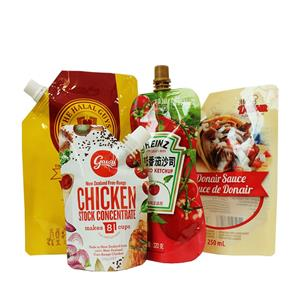Sauces Packaging With Spout Manufacturers, Sauces Packaging With Spout Factory, Supply Sauces Packaging With Spout