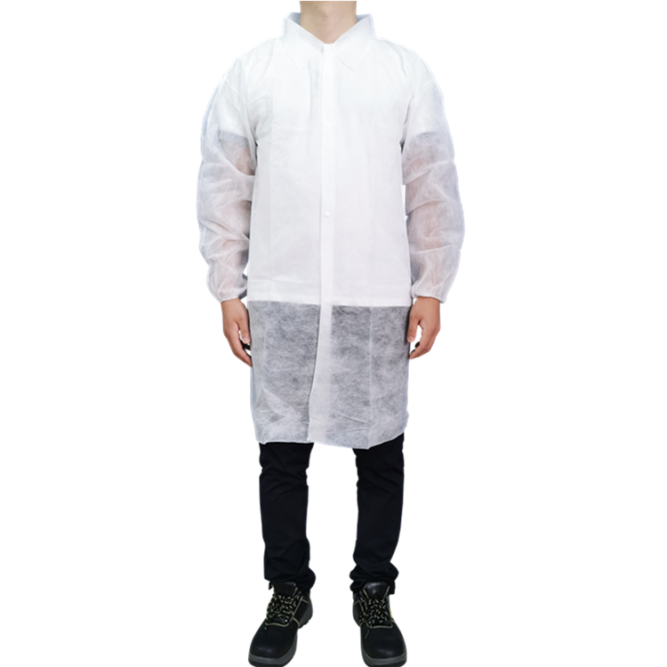 Disposable Nonwoven Labcoat