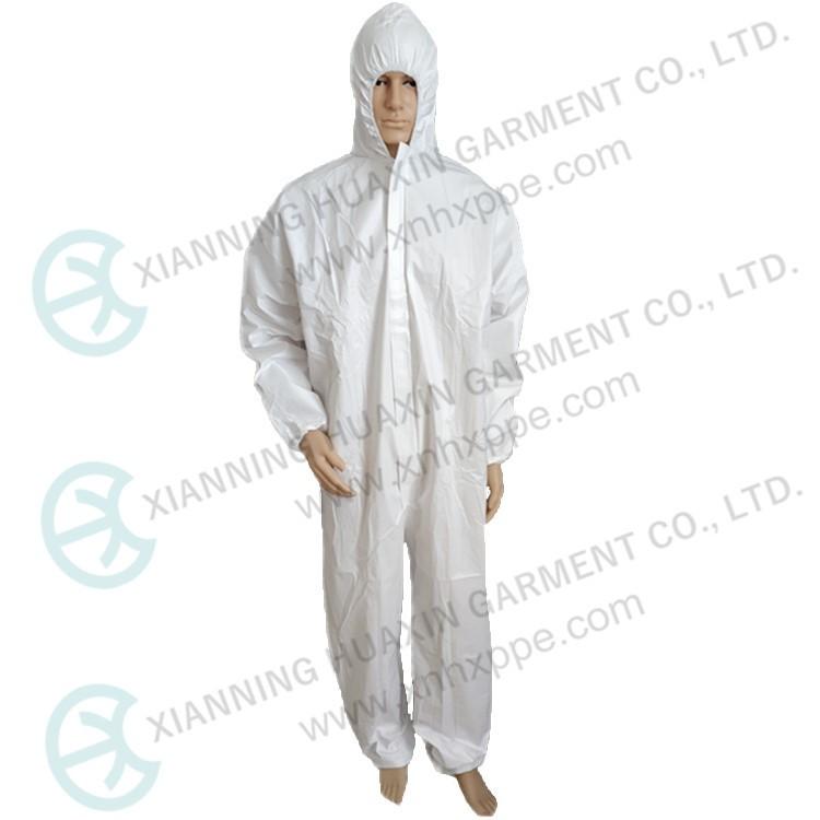 Тип 56 одноразовая защитная рабочая одежда