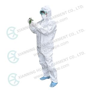 EN14126 EN14605 EN13982 coronavirus epidemic virus application coverall