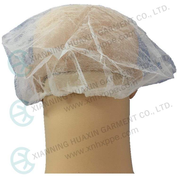 Disposable Nonwoven Safe Use Surgical Bouffant Cap Factory