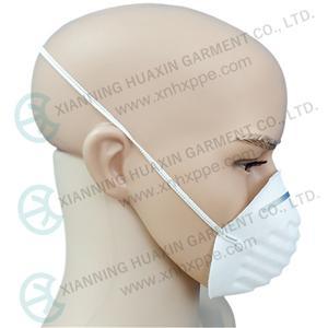 귀 고리가 있는 폴리프로필렌 컵 마스크