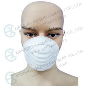 안전 보호 일회용 방진 FFP1 접이식 마스크