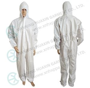 EN14126 TYPE5B TYPE 6B microporous protective coverall