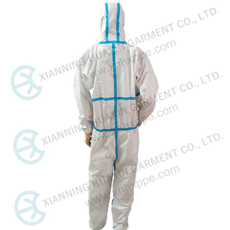 TYPE4/5/6 disposable protective work wear