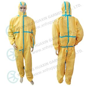 TYPE 3/4/5/6 one time use protective work wear to support the outbreak of new pandemic