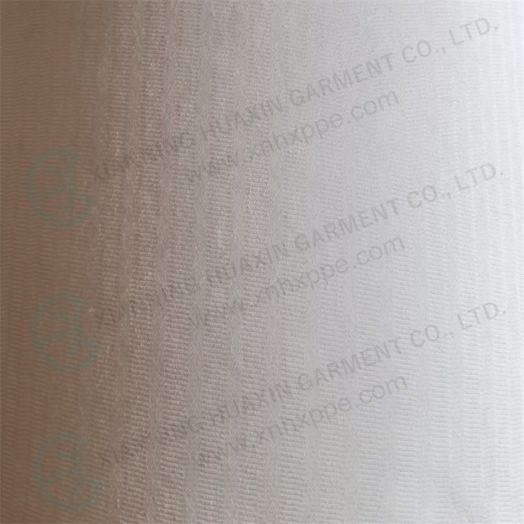 liquid and particles resistant breathable clothing