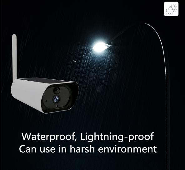Düşük Güç Tüketimi IP Kamera