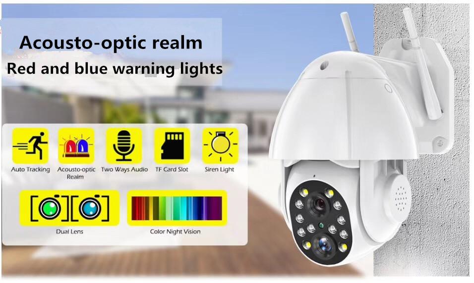 Starlight Wi-fi Kamera
