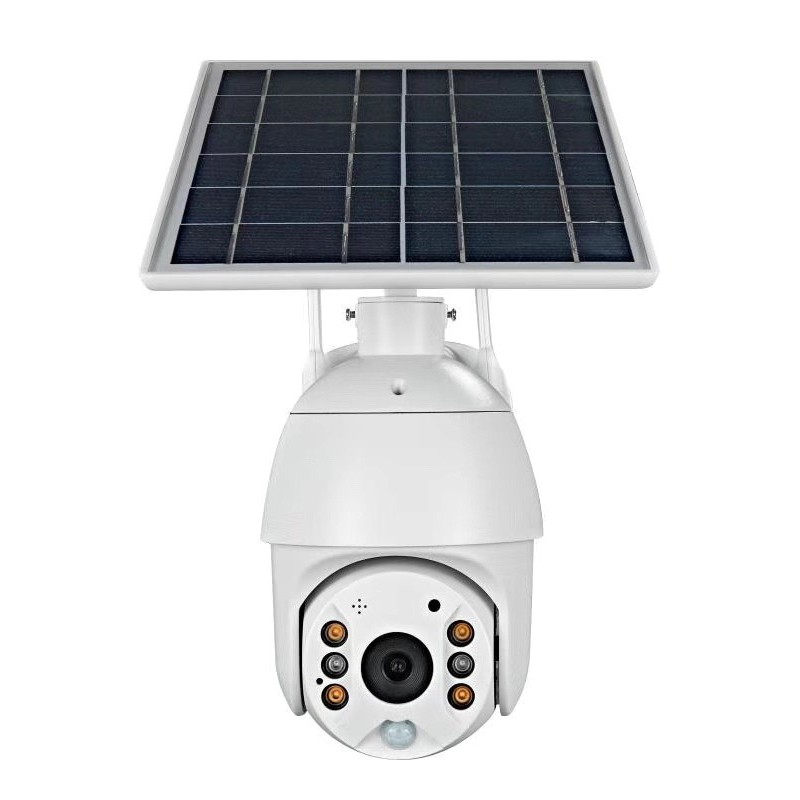 Smart PIR Alarm Solar Wireless IP Camera