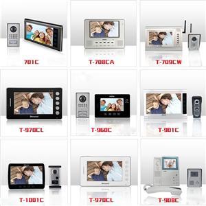 Görüntülü Kapı Telefonu İnterkom Sistemi
