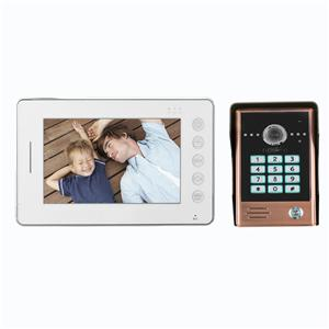 7 Inch Video Door Phone Kit With Remote
