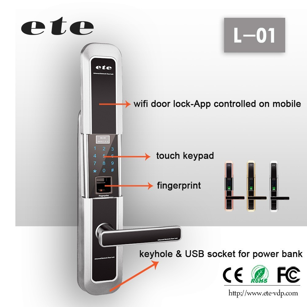 Keyless Lock Entry WiFi With Fob