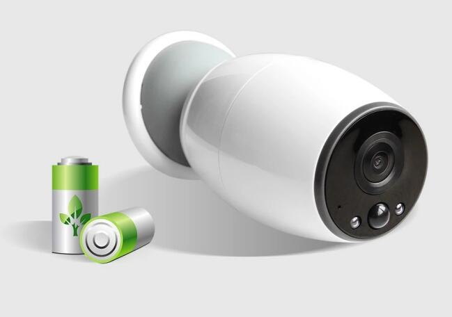 Cámara de seguridad con batería inalámbrica