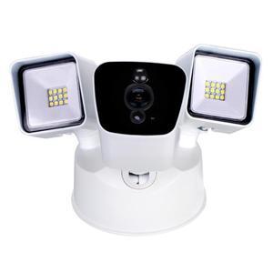 Videocámara de reflector Wi-fi de detección de movimiento PIR de conmutación inteligente de día y noche