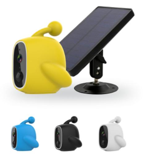 Harici Güneş Paneli Wi-fi IP Kamera