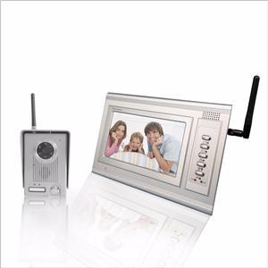 Wireless Video Door Phone 2.4 Ghz Digital For Home