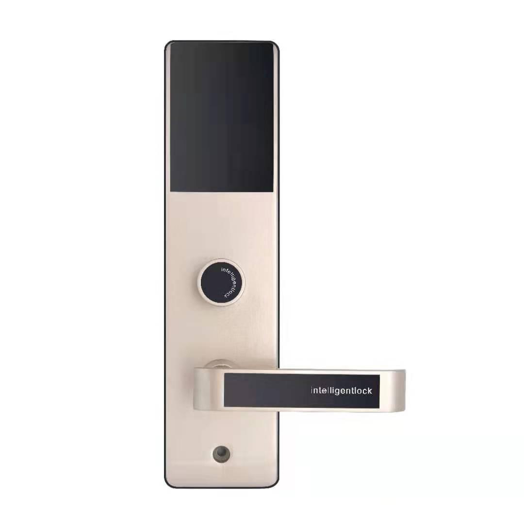 Super slim zinc alloy unique design hotel door lock system