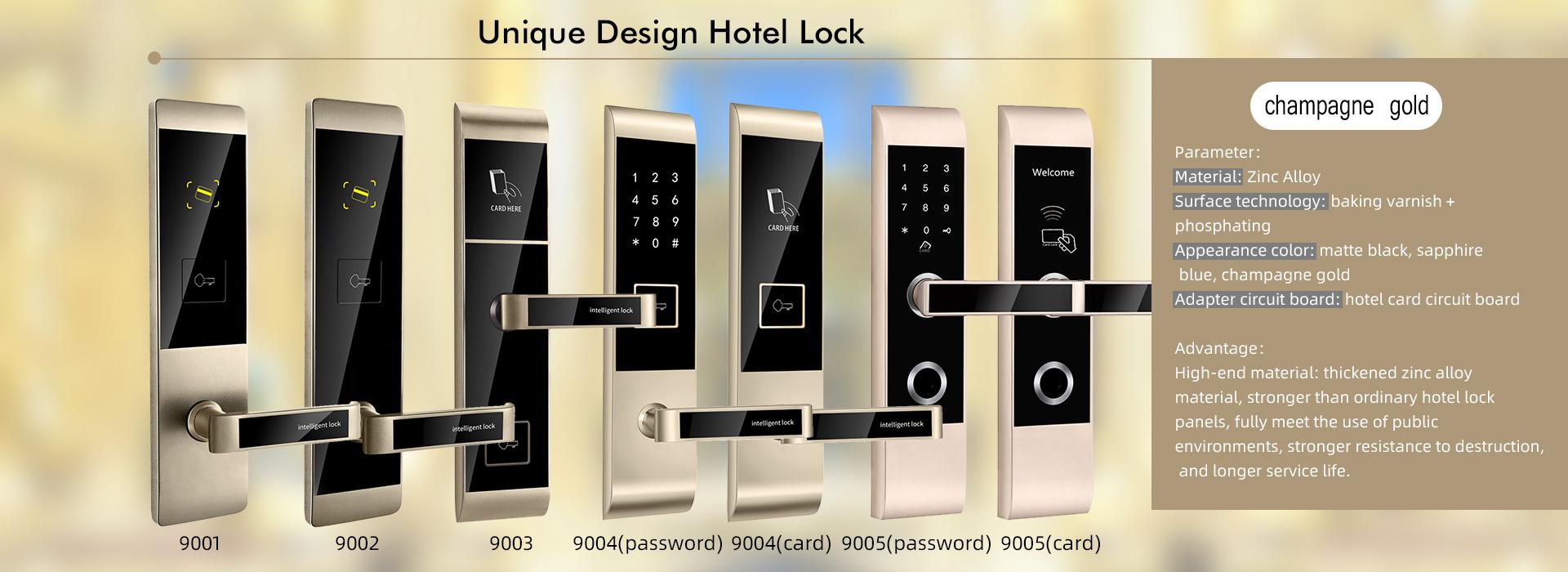 unique design hotel lock system