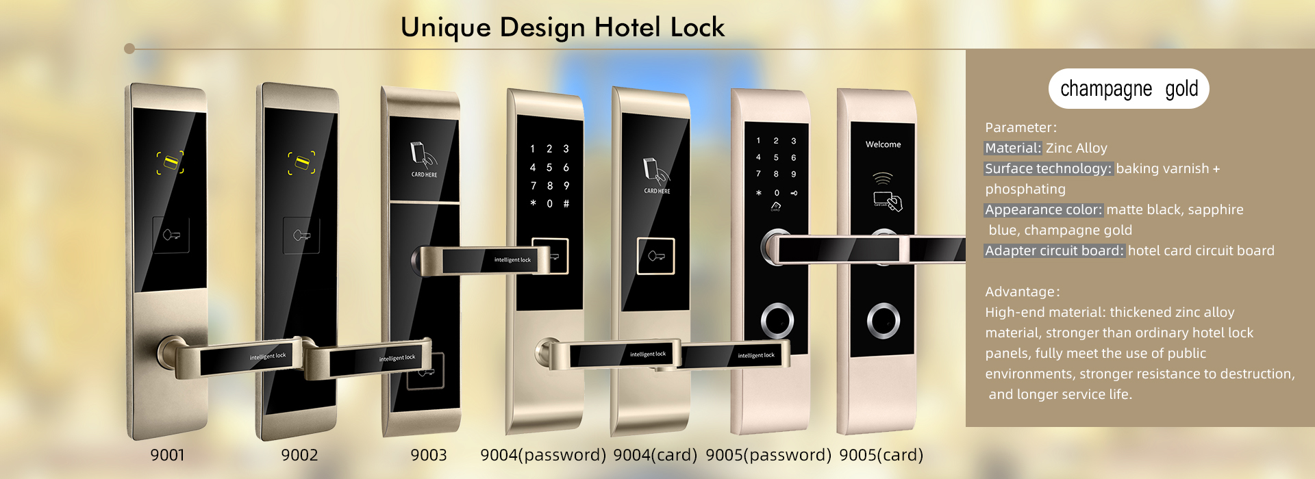 OEM hotel door lock