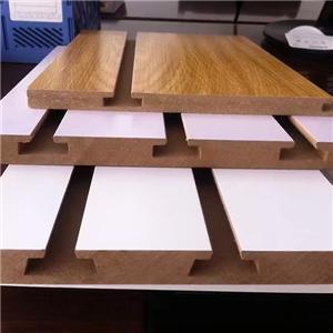 Slot gefärbte MDF-Platte