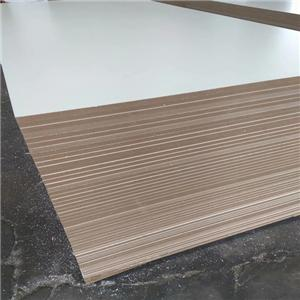 two sides Melamine Laminated MDF