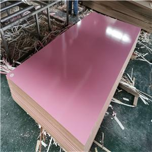 solid color melamine faced MDF board