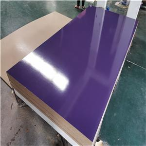 different solid color melamine MDF board