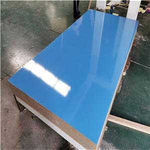 solid color melamine MDF board