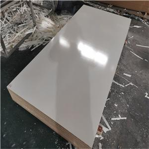 glossy solid color melamine MDF board