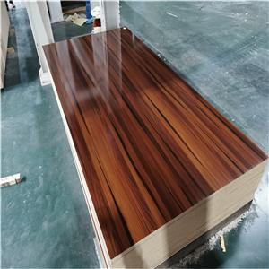 different wood grain color melamine MDF board