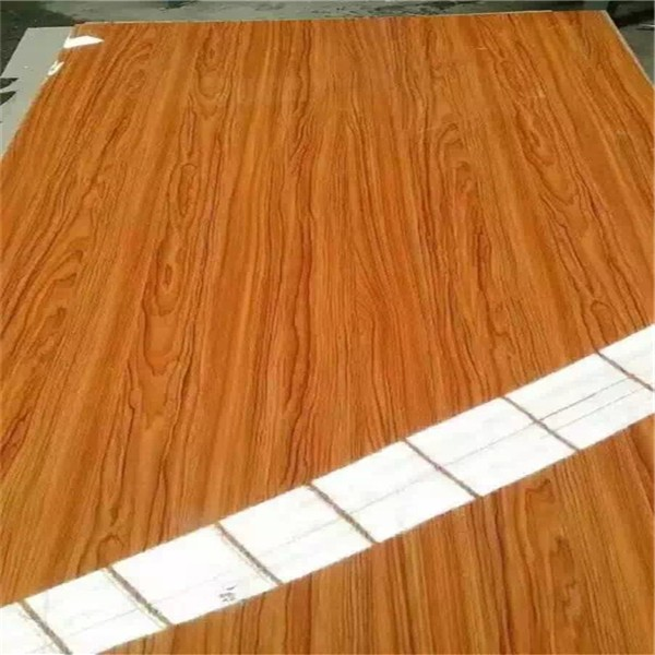 glossy wood grain melamine MDF board