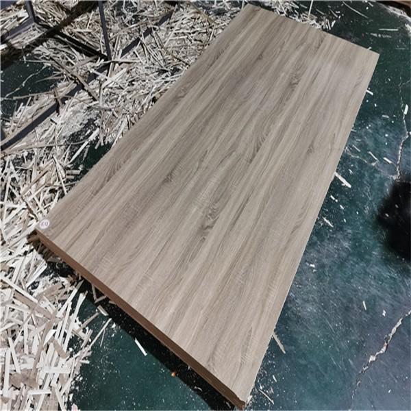 glossy wood grain melamine MDF board
