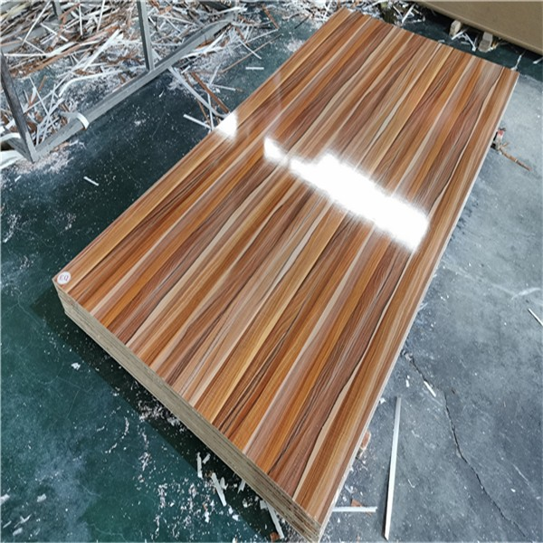wood grain melamine MDF board