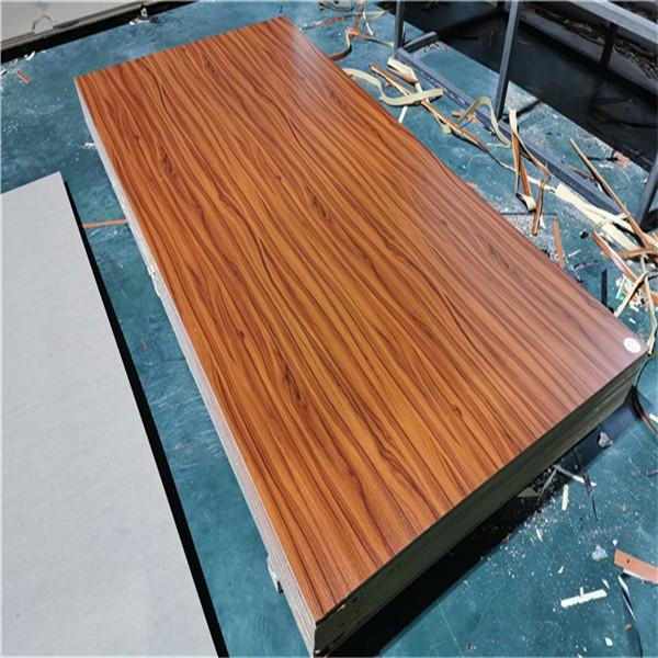 wood grain melamine MDF board 18mm