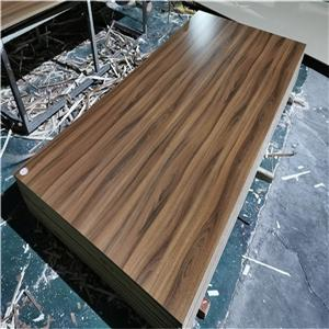 wood grain melamine MDF board 16mm