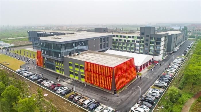 New Factory Of Shanghai Modu Film